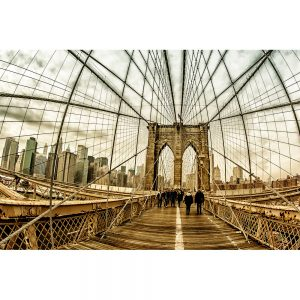 Brooklyn-Bridge-Fish-Eye