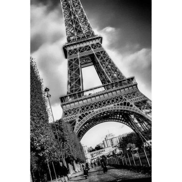 Eiffel-Tower-B&W