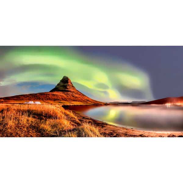 Northern-lights-Kirjufellsfoss