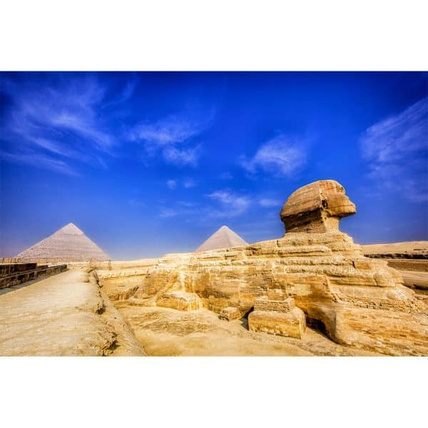 Sphinx-and-Pyramids